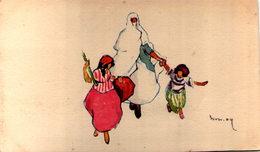 Algérie - Scénes Et Types - Illustrateur - Algeria