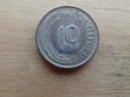 Singapour  10  Cents  1968   Km 3 - Singapour