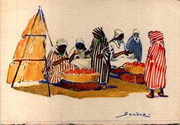Algérie - Scénes Et Types - Illustrateur Sandoz - Algeria