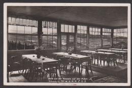 Tetschen Decin Hoher Schneeberg Restaurant Böhmen Berggasthaus Aussichtsturm 1936 - Boehmen Und Maehren