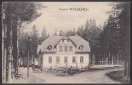 Raiza Bei Tyssa Tisa Tissa Böhmen Karte 1930, Gasthof Waldesruh Und Sommerfrische - Boehmen Und Maehren