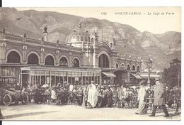 MONACO - MONTE CARLO - Café De Paris - Marchand De Tapis En Terrasse - Terrassen