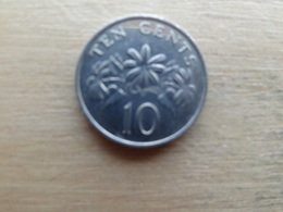 Singapour  10  Cents  1988   Km 51 - Singapour