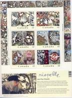 +P157. Canada 2003. Riopelle. Bloc. Michel 65. MNH(**) - Blocks & Sheetlets
