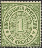 North German Postal District 19 Splendor Fine Used / Cancelled 1869 Kreuzer Currency - Norddeutscher Postbezirk (Confederazione Germ. Del Nord)
