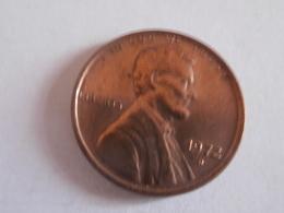 One Cent ETATS UNIS 1972 D - 1959-…: Lincoln, Memorial Reverse