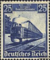 German Empire 582 Unmounted Mint / Never Hinged 1935 German Railways VT 04 - Germany