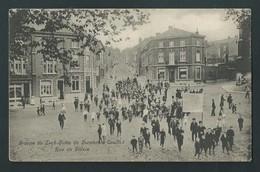 COUILLET. (Charleroi)  Rue De Villers. Groupe De Leck- Outés De Verviers à Couillet. Rare. 1907. - Charleroi