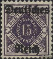 Deutsches Reich D54 MNH 1920 Timbro Ufficiale - Deutschland