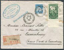 1930 Algeria Registered Philippeville - Luxembourg - Algérie (1924-1962)