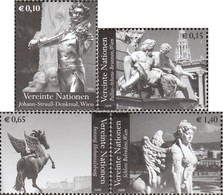 UN - Vienna 522-525 (complete.issue.) Unmounted Mint / Never Hinged 2008 Attractions - Wien - Internationales Zentrum
