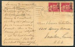 Algeria Postcard - USA - Algeria (1924-1962)