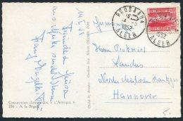 1952 Algeria Postcad - Hannover Germany - Algeria (1924-1962)