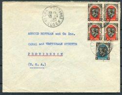 1950 Algeria C.I.A.C. Cover - Providence RI USA - Algeria (1924-1962)