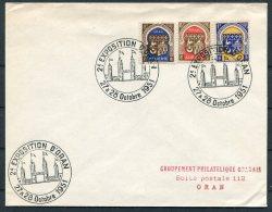 1951 Algeria Oran Exposition Cover - Algeria (1924-1962)