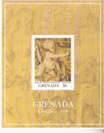 1991 Grenada Christmas Noel Durer Paintings Art Complete Set Of 2 Souvenir Sheets MNH - Arte