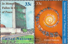 UN - New York 826,830 (complete Issue) Unmounted Mint / Never Hinged 1999 Special Stamps - New York – UN Headquarters