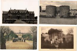 Lot 10 CPA & CPSM France  / Boves, Planaise, St Sauveur-les-Arras, Montereau, Soissons ... / A Voir !!! - Postcards