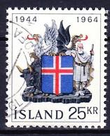 ISLANDE 1964 YT N° 335 Obl. - 1944-... Republik