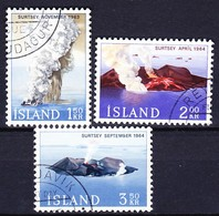 ISLANDE 1965 YT N° 347 à 349 Obl. - 1944-... Republik