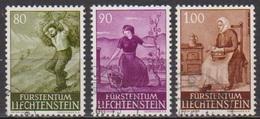 Lichtenstein 1961 MiNr.411- 413 O Gest. Landschaften ( 1452 ) Günstige Versandkosten - Liechtenstein