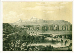 Sortie De La Ville De Yerevan,  Vue Ancienne, Belle Carte , Format 20 X 14,5 Cm., Neuve,non Circulée - Azerbaïjan