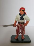 Soldatino In Lega Metallica (DIPINTO A MANO) - Pirata - Small Figures
