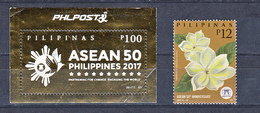 Filippine Philippines Philippinen Pilipinas 2018 Presidential Cars 10 Stamps In 2 Different Sheetlets MNH** (see Photo) - Filippine