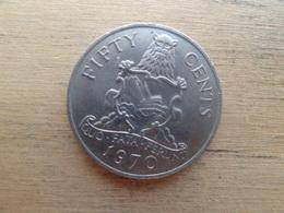 Bermudes  50  Cents  1970  Km 19 - Bermuda