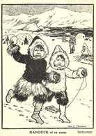 Illustrateur Rosa C Petherick  ENFANTS DU POLE (Groenland) NANOUK Et Sa Soeur    RV - Groenlandia