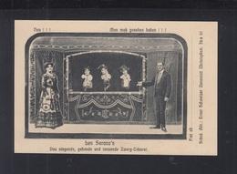 AK Les Serano's Zwerg Cabaret - Circus
