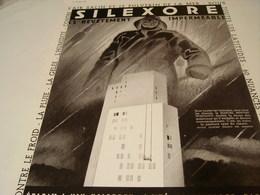 ANCIENNE AFFICHE PUBLICITE PEINTURE SILEXORE  1939 - Other
