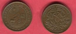 50 CENTAVOS ( KM182A;1)TTB 6 - Bolivia