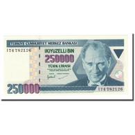 Billet, Turquie, 250,000 Lira, 1988, KM:211, NEUF - Turquie