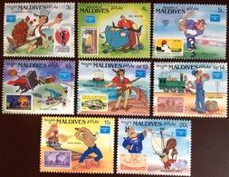 Maldives 1986 Ameripex Disney MNH - Maldives (1965-...)
