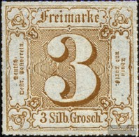 Thurn Und Taxis 50 Con Fold 1866 Punto - Thurn Und Taxis