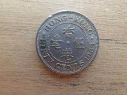 Hong-kong  50 Cents  1963 H  Km 30.1 - Hong Kong
