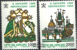 Vatikanstadt 1097-1098 (complete.issue.) Unmounted Mint / Never Hinged 1993 Johannes Of Nepomuk - Vatican