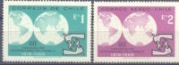 1969. Chile, 50y Of International Organization Of Labour, Mich. 712/13, 2v, Mint/** - Chile