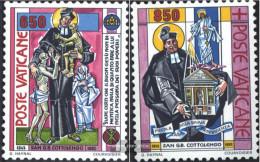Vatikanstadt 1058-1059 (complete.issue.) Unmounted Mint / Never Hinged 1992 Cottolengo - Vatican