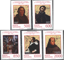 Vatikanstadt 1051-1055 (complete Issue) Unmounted Mint / Never Hinged 1992 Discovery America - Vatican