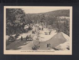 AK Deutsche Truppen Beim Vormarsch Durch Süd Norwegen Norway - Weltkrieg 1939-45