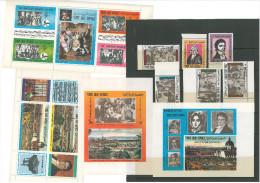 05- Yemen Arab Republic 1970 Mi 1406/1417 & Blocks 167/8 MNH 200th Anniv BEETHOVEN 1770-1970 - Music - Yemen