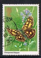 GB SG1154 1981 Butterflies 25p Good/fine Used [9/10423/25D] - Oblitérés