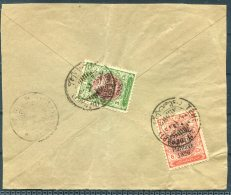 1926 Iran Persia Regne De Pahlavi Overprint Large Cover Piece - Iran