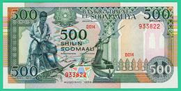 500 Shilin  - Somalie   - 1989 -  N° D014 933822 -  Neuf - - Somalie