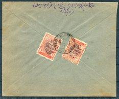 1926 Iran Persia Regne De Pahlavi Overprint Cover. - Iran