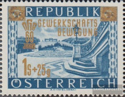 Austria 983IV (complete.issue.) BEW.EGUNG Unmounted Mint / Never Hinged 1953 Union - 1945-60 Unused Stamps