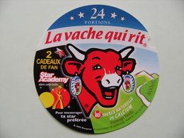 Etiquette Fromage Fondu - Vache Qui Rit - 24 Portions Bel Pub Cadeaux Fan Star Academy  A Voir ! - Cheese