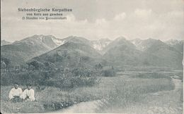 1917 Romania Hungary Kerz Cârța Germany Deutsche Feldpost 501 Sibiu Kranken Abt. Rumänien Roumanie - Rumänien